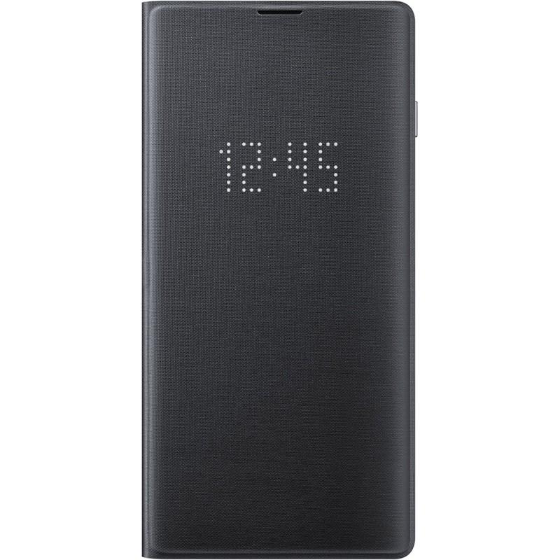 Чехол Samsung LED View Cover (Black) для Galaxy S10,