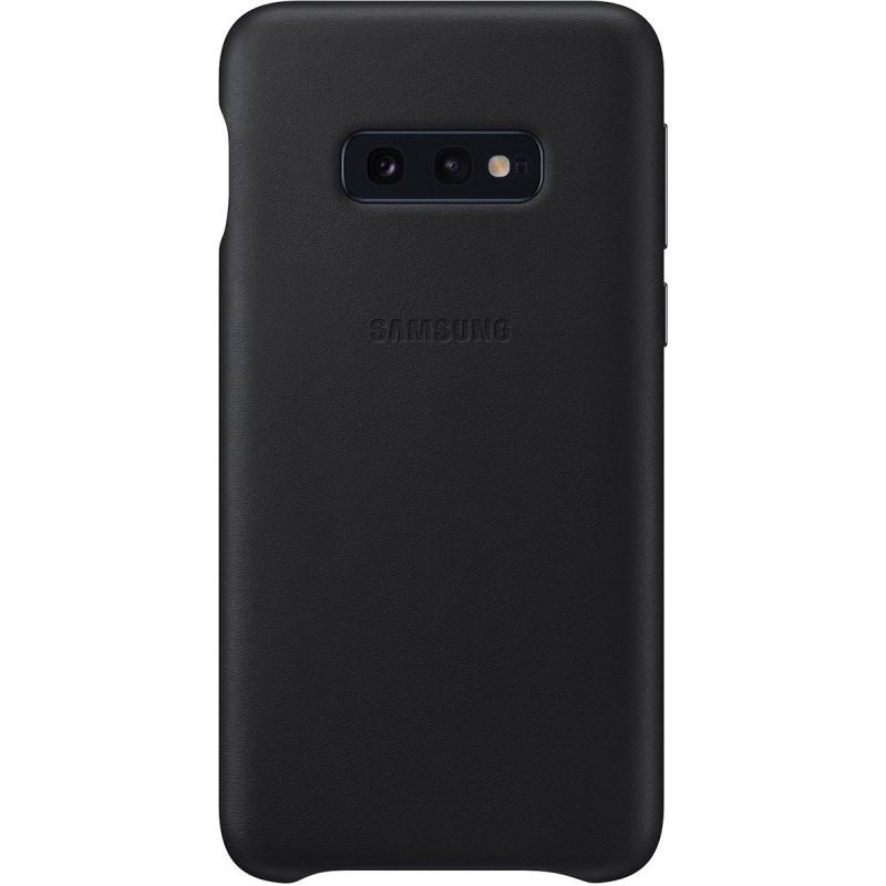 Husă Samsung Leather Cover (Black), Galaxy S10e,
