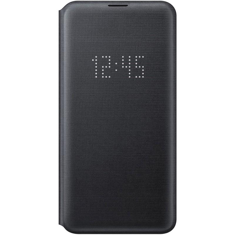 Husă Samsung LED View Cover (Black), Galaxy S10e,