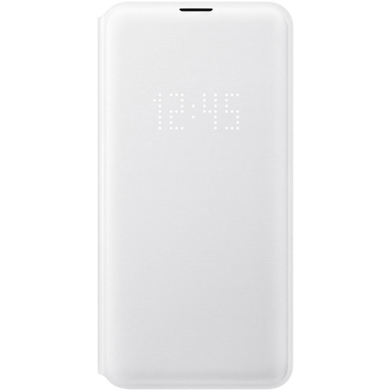 Husă Samsung LED View Cover (White), Galaxy S10e,