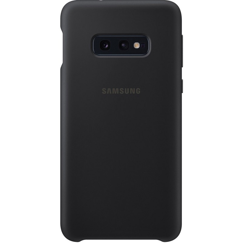 Чехол Samsung Silicone Cover (Black) для Galaxy S10e,