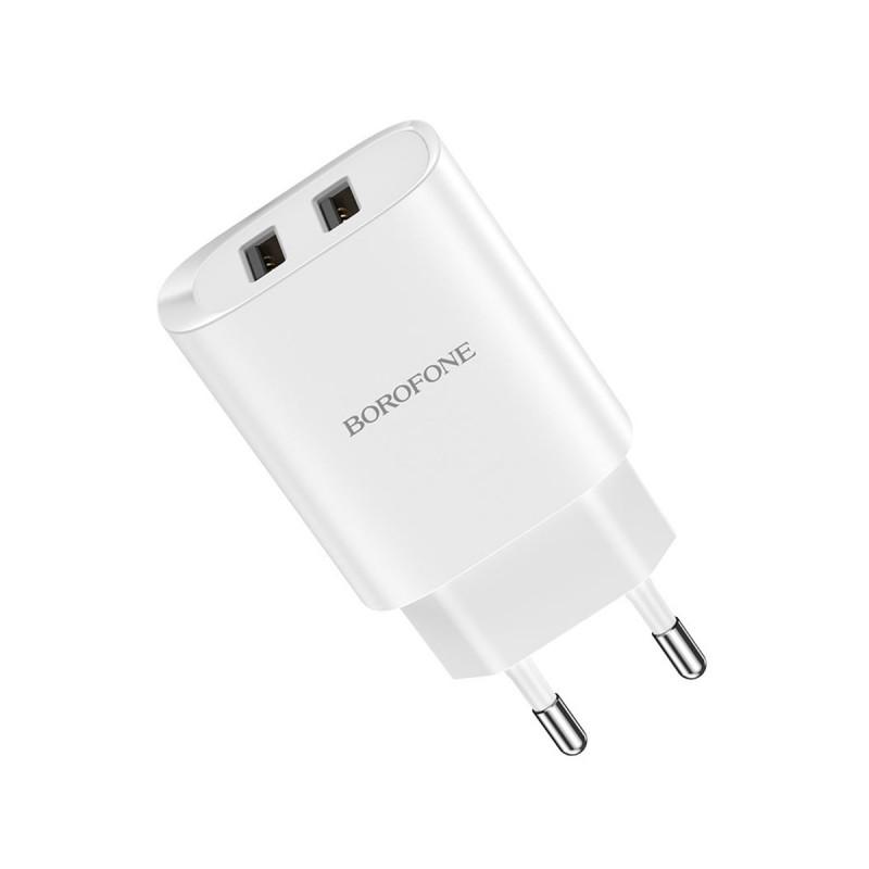 Сетевое зарядное устройство с кабелем Borofone