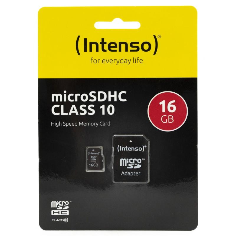 Карта памяти Intenso MicroSD