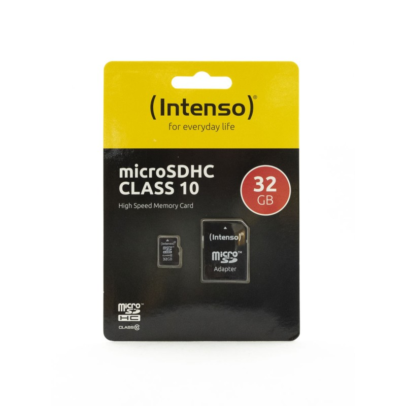 Карта памяти Intenso microSDXC